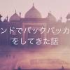 やっぱもう一度行きたい??僕がインドに行って良かったことと悪かったこと